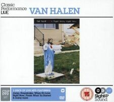 Van Halen - Sight & Sound - Right Here Right Now (dvd+cd) NEW DVD