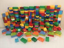 LEGO DUPLO Lot 40 BUILDING BLOCKS BRICKS PIECES Multicolor / 2x4 2x2 / Curved