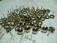 Upholstery Nails - Furniture Studs/Tacks/Pins - 11mm Chrome - 200 Count