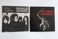 Black Sabbath Single Spanish Press