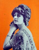 Hanger Miss Vix Cover Comoedia Shown N° 16 1909+ Adv Car Peugeot