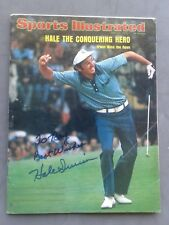 Hale Irwin Autographed Sports Illustrated June 24,1974 Ex Condition