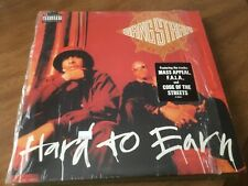 Rare Original  GANG STARR Hard To Earn DOUBLE LP Chrysalis Records Excellent