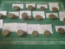 1950 Year of Issue George VI Sixpence Coins (1936-1952)
