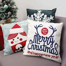 3pk Pillow Set Christmas Snowflake Antler Merry Christmas Snowball Throw Cushion