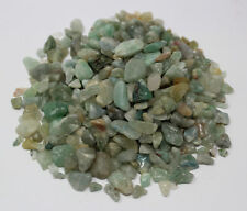 1/4 lb Loose GREEN AVENTURINE Chips 5 -15 mm, Semi Tumbled Stones 4 oz