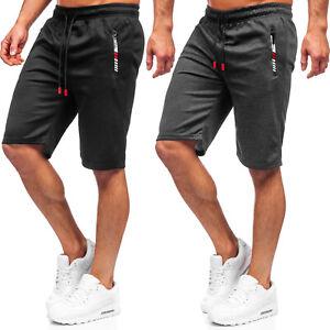 Sporthose Bermudas Shorts Kurzhose Kurze Jogging Fitness Herren Mix BOLF Motiv