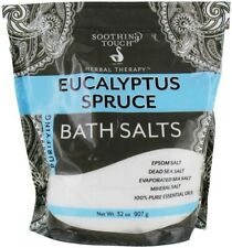 Herbal Therapy Bath Salts, Soothing Touch, 32 oz Purifying Eucalyptus Spruce