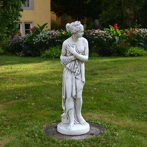 Grand Massif Statue Pandora Sculpture en Pierre Jardin Fonte Résistant au Gel