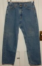 Levis 565 Orange Tab Blue Jeans Mens Size 33X32