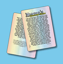 """Heaven's Grocery Store"" inspired by - 1 Timothy 6:6-8 - 2 Verse Cards  sku# 782"