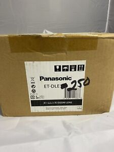 Panasonic Projector ET-DLE250 Long Throw Projection Zoom Lens 2.4-3.7:1