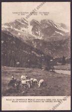 TORINO CERESOLE REALE 48 GRAND HOTEL - PASCOLO Cartolina Ed. GENTA 3 B C 310329