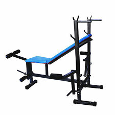 Branded Fitfly Weight Lifting 8 IN 1 Bench .(Blue)