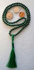 Malachite 6mm 108 Handmade Japa Yoga Mala Beads AAA Quality Necklace - Energized