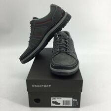 Rockport Mens Gyk Blucher Sneakers Gray Lace Up Low Top Mesh V82622 12 New