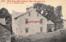1914 MENDOTA MN Sibley Home, Oldest in State, owned by D.A.R., mailed to Johnson
