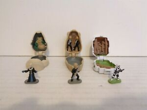 1997 Galoob Micro Machines Star Wars Mini Heads Collection 4 IV Set Complete