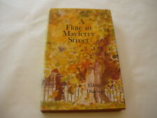 "Romance, Novel: ""A FLUTE IN MAYFERRY STREET"" Eileen Dunlop. Signed 1st Ed HCDJ"