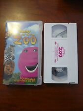 VHS Video Tape Barney Let's Go to the Zoo