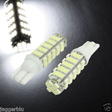 2x T10 W5W 501 68 SMD 5050 LED HIGH POWER CANBUS AUTO Luce Laterale Xenon Bianco Lampadina