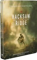 Hacksaw Ridge Exclusive Steelbook (Blu Ray + DVD + Digital HD) Brand New Sealed