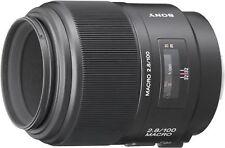 SONY Lens 100mm F2.8 Macro SAL100M28  Japan Domestic Version New