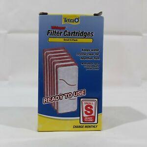 Tetra19550 6-Pack Whisper Aquarium Filter Cartridge, Small