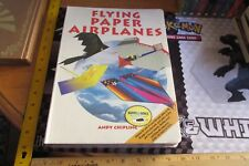 Flying Paper Airplanes NIP 64 Planes Back Pack Books Andy Chipling Pretend Play