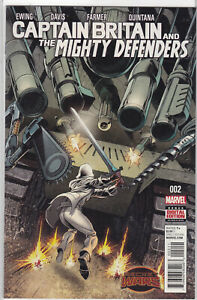 Captain Britian and the Mighty Defenders #2 MARVEL Punisher Spiderman She Hulk