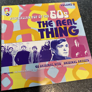 Australian Pop Of The 60s The Real Thing Vol. 3 (2 CD) 2010 N/Mint
