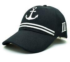 ANCHOR Marine Ship Baseball Cap Men Women Sun Hat Snapback Hip Hop Summer Funny