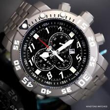 Invicta Sea Base Swiss Made Titanium Steel Sapphire Chronograph 53mm Watch New