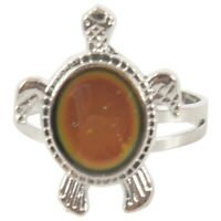 Turtle Color Changing Mood Ring Adjustable X9Y9