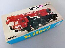 Kibri 10330 Liebherr Kran Autokran Mobilkran Feuerwehr Ingolstadt TOP rar