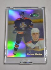 2003 ETOPPS HOCKEY RC NATHAN HORTON FLORIDA PANTHERS CARD IN HAND READY TO MAIL