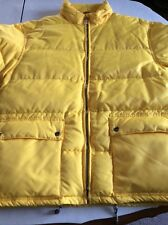 Iceberg Tom and Jerry Yellow Men's  Nylon Parka/Puffer Jacket
