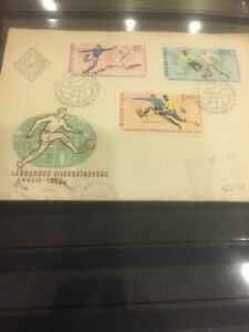 #6Hungary 1966 FDC Old Cover  sent to Israel.1966 Stamp.