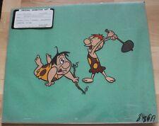 1960 Cavemen Flintstones Hanna-Barbera Original Production Animation Art Cel