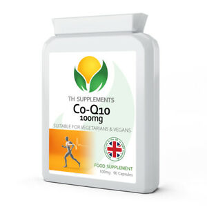 Co Enzyme Q10 CoQ10 100mg 90 Capsules food supplement