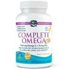 Nordic Naturals Complete Omega Xtra 1360mg Omega-3, 60 Kaps Zitrone VERSAND WELT