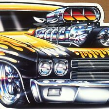 """""""70 Chevelle"""" 1970 Chevy Chevelle New Embossed METAL """"Garage Decor"""" Sign"""