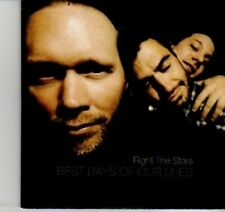 (DI535) Right The Stars, Best Days of Our Lives - 2012 unopened DJ CD