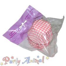 54 x Alta Calidad Rosa Vichy Cupcake Moldes Horno