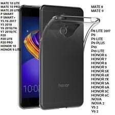 Coque Gel Silicone Tpu Huawei P8/P9/P10/Honor 7/8/9/10/5X/6X/7X/Mate 8/9 LITE/10