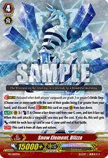 Cardfight!! Vanguard Snow Element, Blizza - PR/0183EN - PR Near Mint