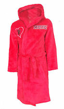 GIRLS 8 9 years MANCHESTER UNITED Dressing Gown Pyjamas Football Robe Kids MAN