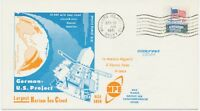 GERMANY / USA 1977 GERMAN U.S. SATELLITE PROJECT postmark WALLOPS ISLAND, VA
