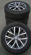4 VW Sommerräder 215/65 R17 Tiguan II AD1 Allspace VW Alufelge Tulsa 5NA601025A