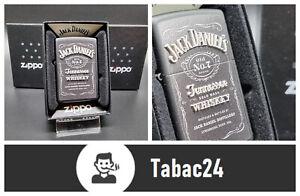 """Original ZIPPO """" Jack Daniels Texture """" Original Benzin Feuerzeug"""